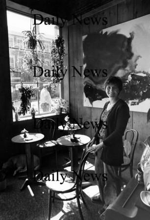 Newburyport:<br /> Sue Little in her original Jabberwocky Bookshop in the early 1970's.<br /> File Photo/Newburyport Daily News Thursday, November 08, 2007