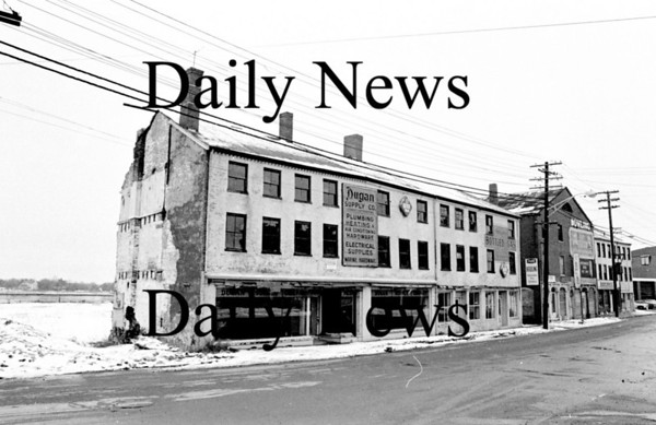 Newburyport: North Row Feb 1971<br /> Photo by Urban Renewal/Newburyport Daily News. Saturday, April 14, 2007