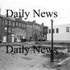Newburyport:Inn Street, future site of the Tot Lot. Aug 1975 <br /> Photo by Urban Renewal/Newburyport Daily News. Thursday, April 26, 2007