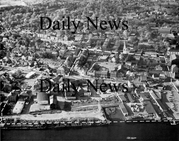 Other: Aerial shot of Downtown Newburyport before Urban Renewal.<br /> Photo by Urban Renewal/Newburyport Daily News. Tuesday, May 15, 2007