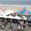 Hampton: The Atlantic Ocean is the ideal backdrop for the Hampton Beach Seafood Festival. Jim Vaiknoras/Staff Photo