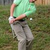 Topsfield: Newburyport High golfer Brendan Crowther at New Meadows. Jim Vaiknoras/staff photo