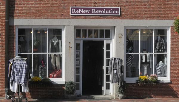 Newburyport: ReNew Revolution in Market Square in Newburyport. Jim Vaiknoras/staff photo