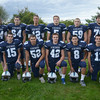 Byfield: Triton football seniors; front from left: Kallen O'Connor, Mark Landry, Mark Boyle, Nicholas Desrocher, James Driscoll, back row: Partick Moran, Patrick McManus, Bradley Whitman, Daniel Cuddy, and Brenden Tardugno. Jim Vaiknoras/staff photo