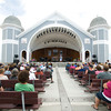 Hampton: Many musical acts appear at the Hampton Beach Seafood Festival. Jim Vaiknoras/Staff Photo
