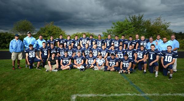 Byfield: The 2013 Triton Football team. Jim Vaiknoras/staff photo
