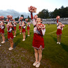Amesbury: Amesbury cheerleaders at the Indians game against Triton Friday night at Landry Stadium in Amesbury. Jim Vaiknoras/staff photo