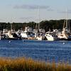 Newburyport: Late afternoon sunlight baths boats docked along the Merrimack River near Cashman Park in Newburyport. Jim Vaiknoras/staff photo