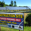 Salisbury: The solar park on Rabbit Road in Salisbury. Bryan Eaton/Staff Photo