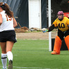 Amesbury: Newburyport field hockey goalie. Bryan Eaton/Staff Photo
