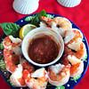 Newburyport: Lisa Summerville's jumbo shrimp cooked in a flavorful broth. Bryan Eaton/Staff Photo