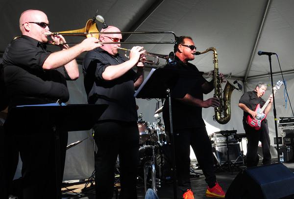 Salisbury: The B Street Bombers take the stage for Salisbury's 375th Anniversary Celebration. Bryan Eaton/Staff Photo