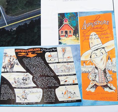 Newbury: Brochures from Adventure Land. Bryan Eaton/Staff Photo