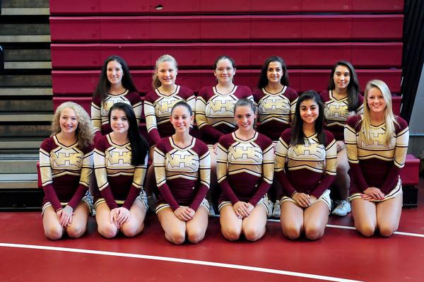 Newburyport: Newburyport High School cheerleaders 2013. Bryan Eaton/Staff Photo