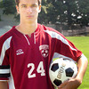 Newburyport: Newburyport High soccer player John Spears. Bryan Eaton/Staff Photo