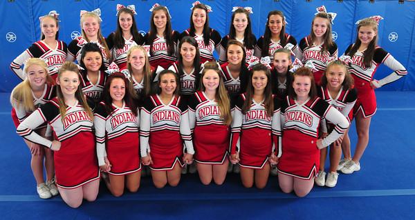 Amesbury: Amesbury High School cheerleaders. Bryan Eaton/Staff Photo