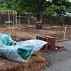 Newburyport: The new playground at the Brown School in Newburyport should be completed by the end of the week. Bryan Eaton/Staff Photo