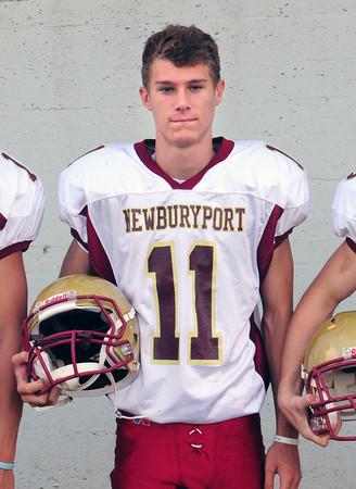 Newburyport: Newburyport High football quarterback Michael Shay. Bryan Eaton/Staff Photo