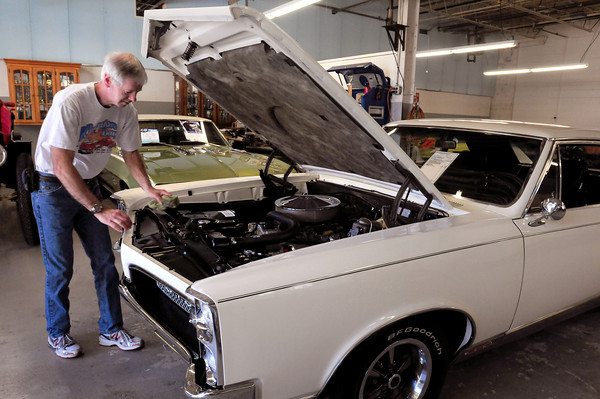 Amesbury: Jeff Picard is also taking this 1957 GTO to the car show. Bryan Eaton/Staff Photo