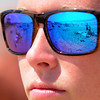 JIM VAIKNORAS/staff photo JIM VAIKNORAS/staff photo Head lifeguard Chelsea Foley on Salisbury beach.