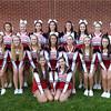 BRYAN EATON/ Staff Photo. Amesbury High School football cheerleaders.
