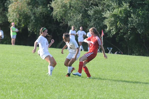 JIM VAIKNORAS/staff photo Newburyport vs Tewksbury Girls Soccer