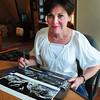 BRYAN EATON/ Staff Photo. Newburyport artist Kathleen Burke.