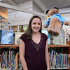 BRYAN EATON/Staff photo. New Newbury Public Library children's librarian Katelyn White.