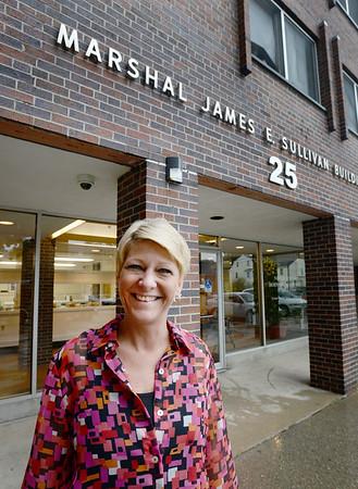 BRYAN EATON/Staff photo. Tracy Watson, new head of the Newburyport Housing Authority.