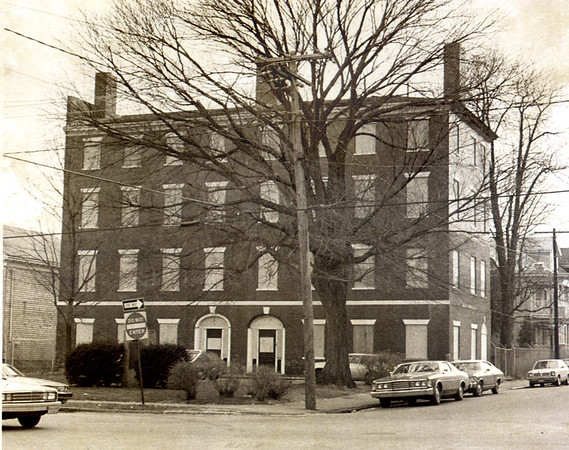 Daily News/File Photo. The Garrison Inn at Newburyport's Brown Square in 1979.