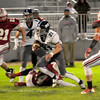 JIM VAIKNORAS/Staff photo Triton's Bryan Hughes finds running room at Amesbury Friday night.
