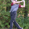 BRYAN EATON/Staff photo. Newburyport's Jacob Grossi-Hogg tees off.