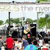 JIM VAIKNORAS/Staff photo Rhett Miller performs at the annual River Front Festival in Market Landing Park in Newburypoprt Saturday.