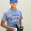 BRYAN EATON/Staff photo. Jack Lucido is a freshman at Georgetown High School and a promising baseball player.