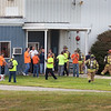 BRYAN EATON/Staff photo. Two workers were reportedly exposed in a chemical release at Innocor Foam Technologies on Thursday afternoon with Newburyport fire and ambulances responding. Their website says they make innovative foams for bedding materials, furniture and packaging.