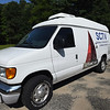 BRYAN EATON/Staff photo. Salisbury Community Television's new van.