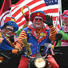 JIM VAIKNORAS/Staff photo A cart full of Shriners Clowns on Walton Road in the Seabrook 250th Day parade Saturday.