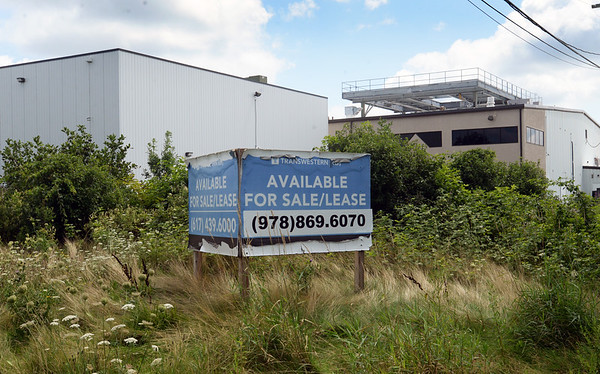 BRYAN EATON/Staff photo. This site at 2 Opportunity Way in Newburyport is proposed for marijuana cultivation.