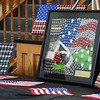 BRYAN EATON/Staff photo. U.S. Army staff sergeant (Ret.) Zeke Crozier's artwork.