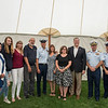 AMANDA SABGA/Staff photo<br /> <br /> Petty Officer Robert Munroe, winner of the 2018 Rear Admiral Richard I. Rybacki Award, center, poses with a group of officials and guests at the Custom House Maritime Museum in Newburyport. <br /> <br /> 8/4/18