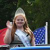 JIM VAIKNORAS/Staff photo 2017 Miss Seabrook Daisy Mace waves on Walton Road in the Seabrook 250th Day parade Saturday.