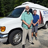 BRYAN EATON/Staff photo. Lance Wisniewski, executive director of SCTV, left, and Chris Donnellan, operations manager with their new van.