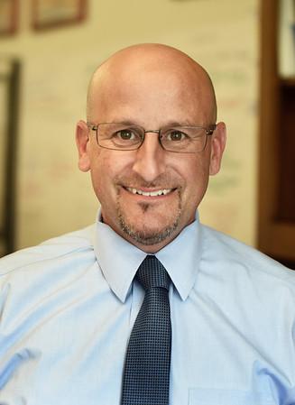 BRYAN EATON/Staff photo. Newburyport High School principal Andrew Wulf.