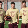 BRYAN EATON/Staff Photo. From left, Charlie Cahalane, Trevor Foley and Walker Bartkiewicz.