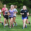 BRYAN EATON/Staff Photo. Triton girls cross country team practice.