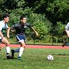 BRYAN EATON/Staff Photo. Pentucket High boys soccer team in practice on Monday.