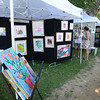 BRYAN EATON/Staff Photo. There was lots to choose from at Art On The Bartlett Mall.