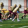 BRYAN EATON/Staff Photo. Newburyport High football tryouts.
