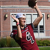 BRYAN EATON/Staff Photo. Shane O'Leary is quarterback for the Governor's Academy.