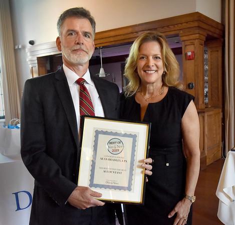 BRYAN EATON/Staff Photo. Sean Bradley, CPA won as Best Accountant.